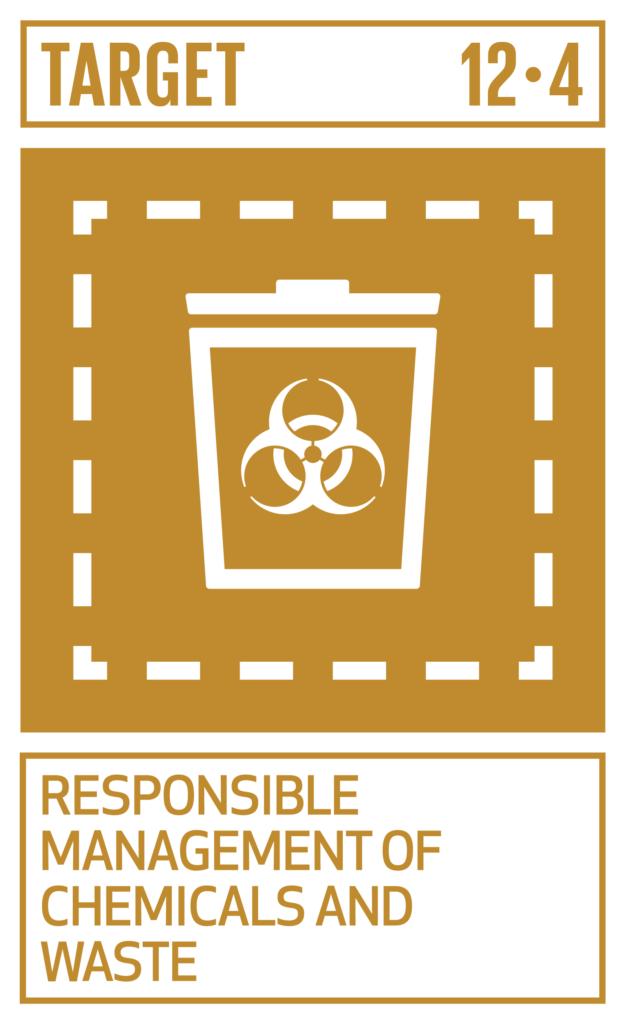 SDGsゴール12 つくる責任 つかう責任 ターゲット12.4