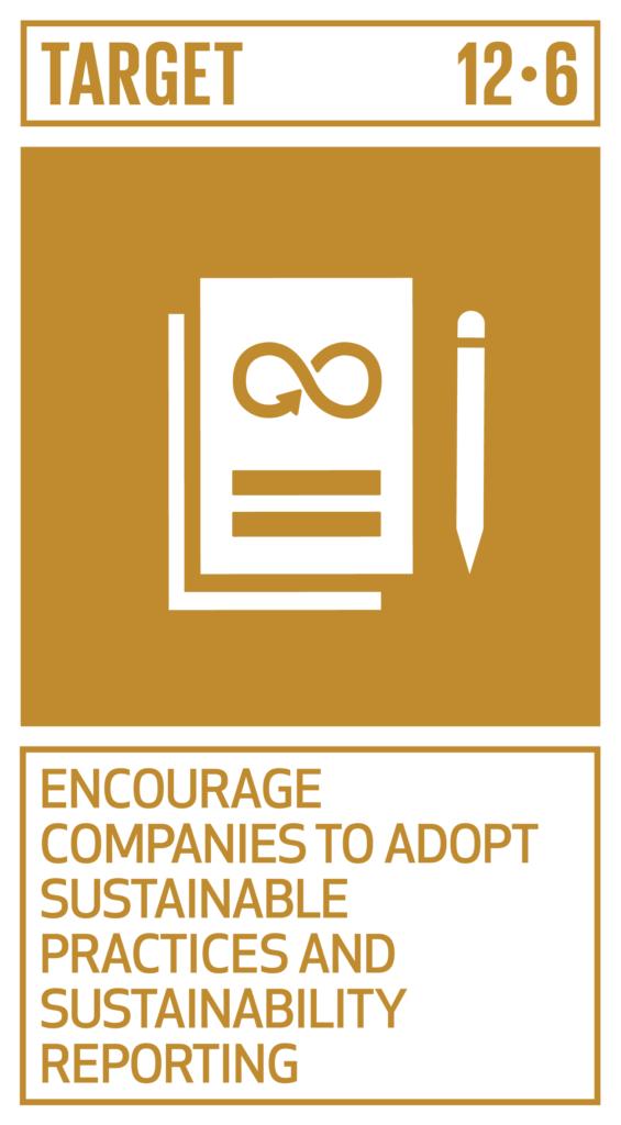 SDGsゴール12 つくる責任 つかう責任 ターゲット12.6