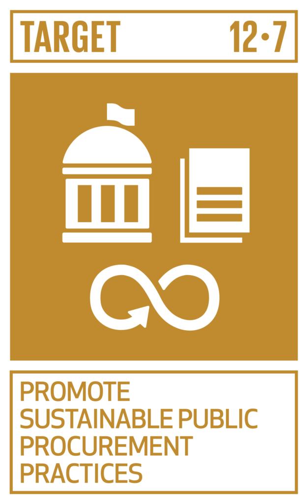 SDGsゴール12 つくる責任 つかう責任 ターゲット12.7