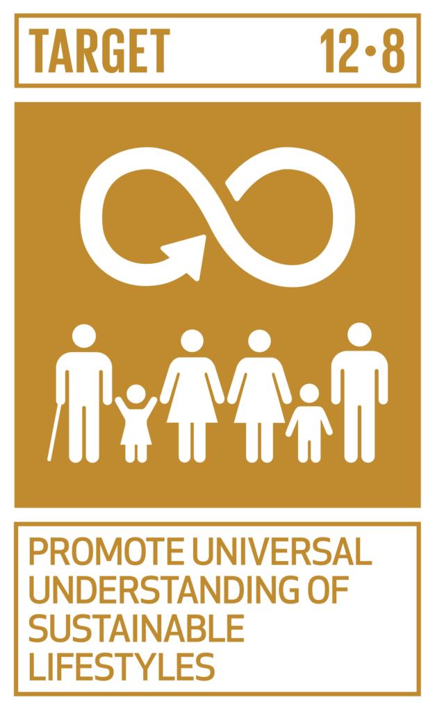 SDGsゴール12 つくる責任 つかう責任 ターゲット12.8