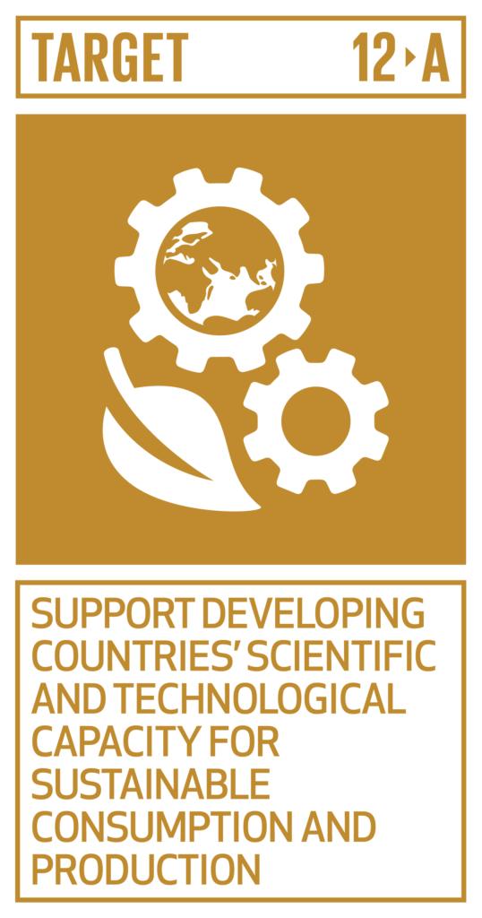 SDGsゴール12 つくる責任 つかう責任 ターゲット12.a