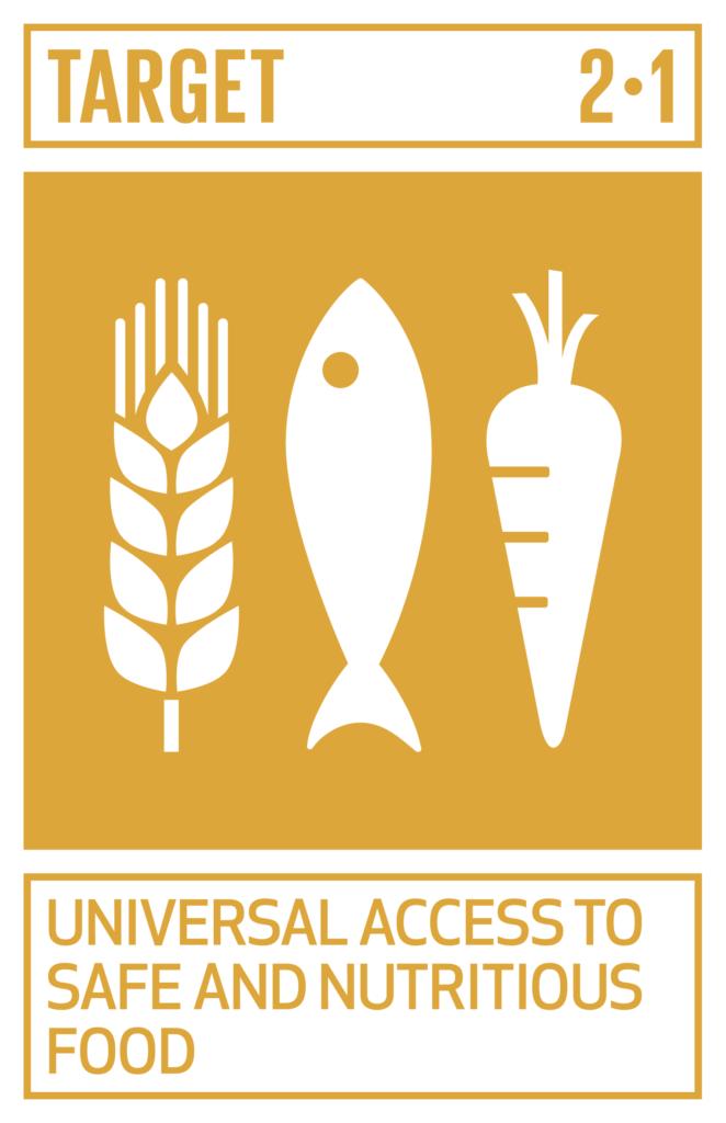 SDGsゴール2 飢餓をゼロに ターゲット2.1