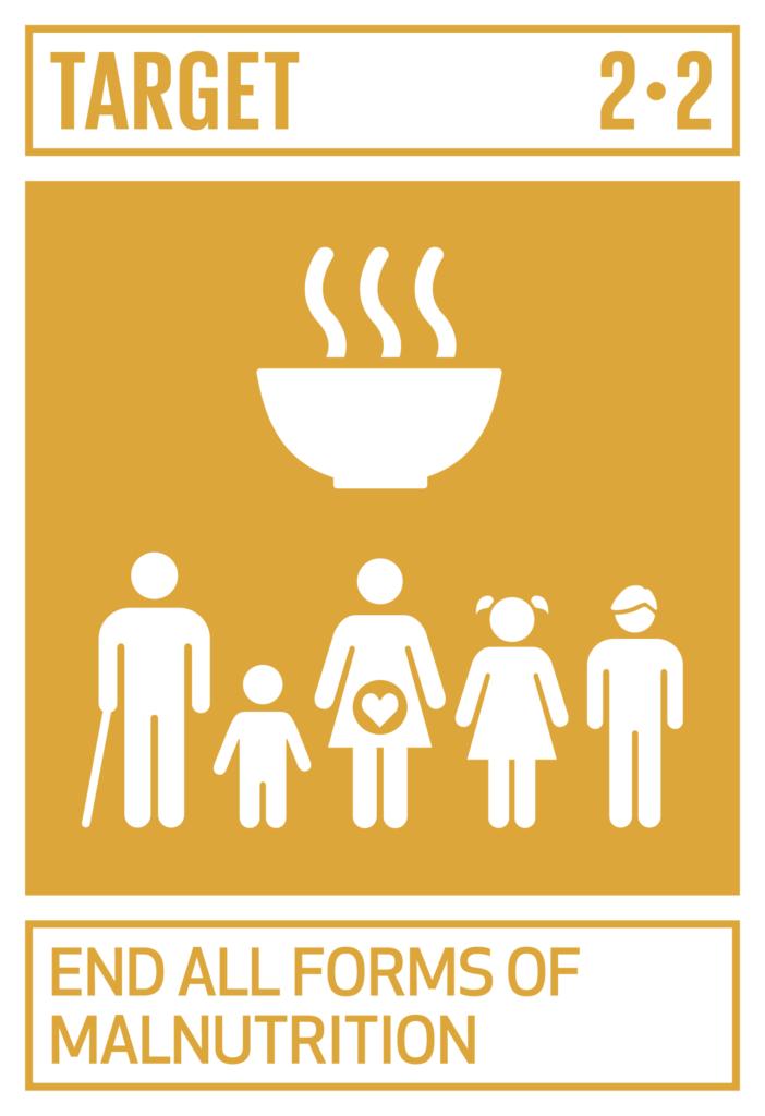 SDGsゴール2 飢餓をゼロに ターゲット2.2
