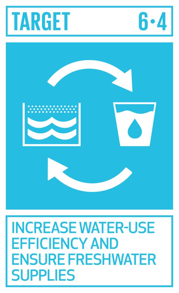SDGsゴール6 安全な水とトイレを世界中に ターゲット6.4