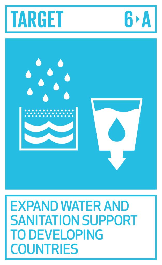SDGsゴール6 安全な水とトイレを世界中に ターゲット6.a