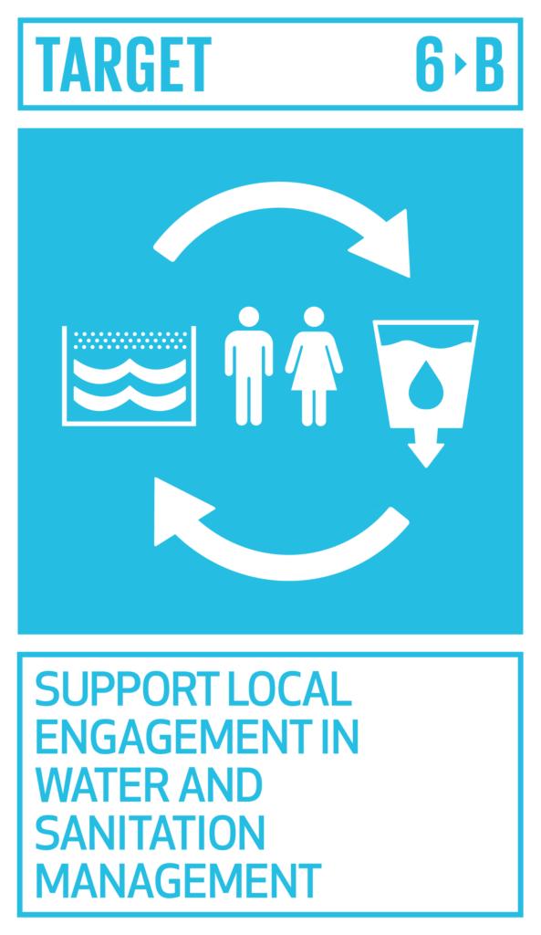 SDGsゴール6 安全な水とトイレを世界中に ターゲット6.b