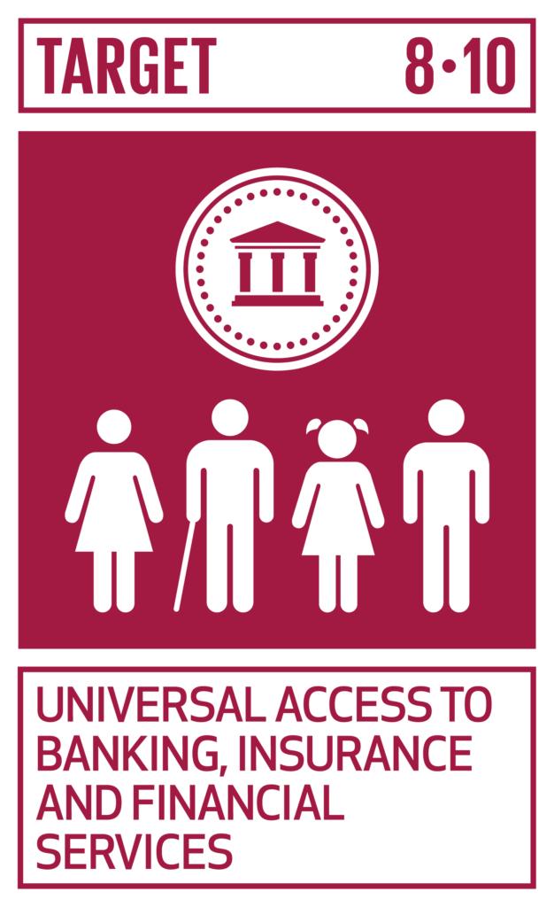 SDGsゴール8 働きがいも経済成長も ターゲット8.10