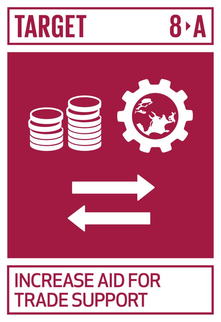 SDGsゴール8 働きがいも経済成長も ターゲット8.a