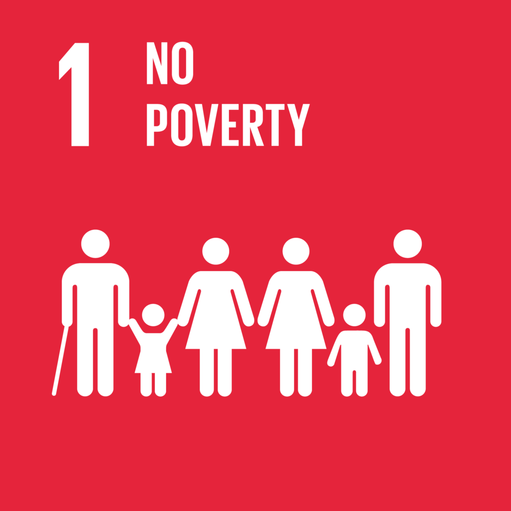 SDGs(持続可能な開発目標) ゴール1 貧困をなくそう