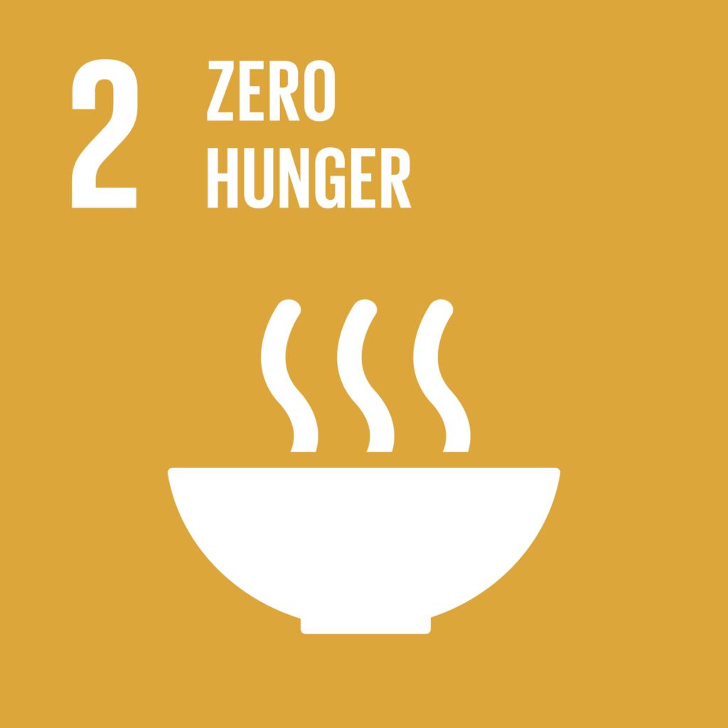 SDGs(持続可能な開発目標) ゴール2 飢餓をゼロに
