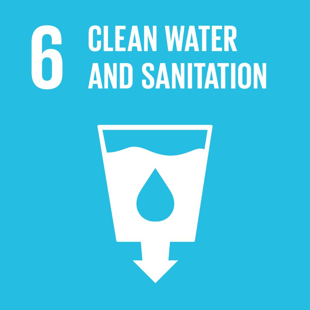 SDGs(持続可能な開発目標) ゴール6 安全な水とトイレを世界中に