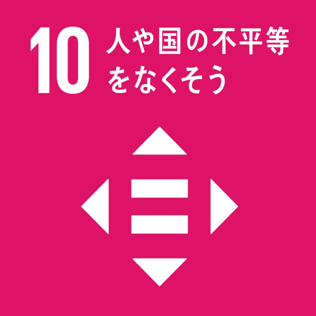 SDGs(持続可能な開発目標) ゴール10 人や国の不平等をなくそう(ゴール・ターゲット・インディケーター )