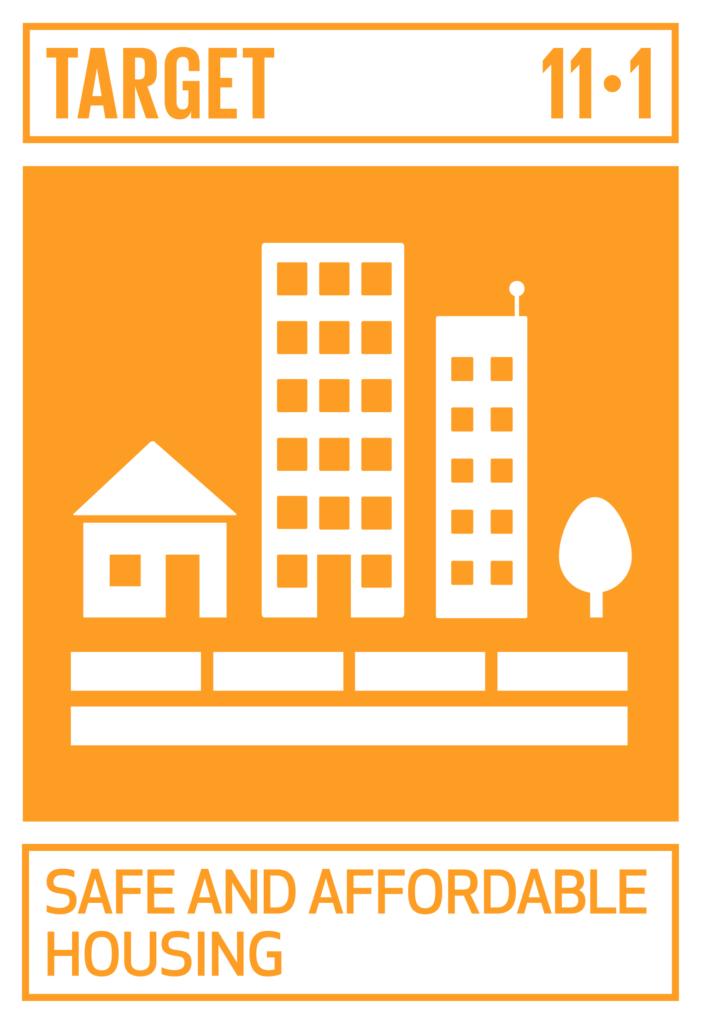 SDGsゴール11 住み続けられるまちづくりを ターゲット11.1