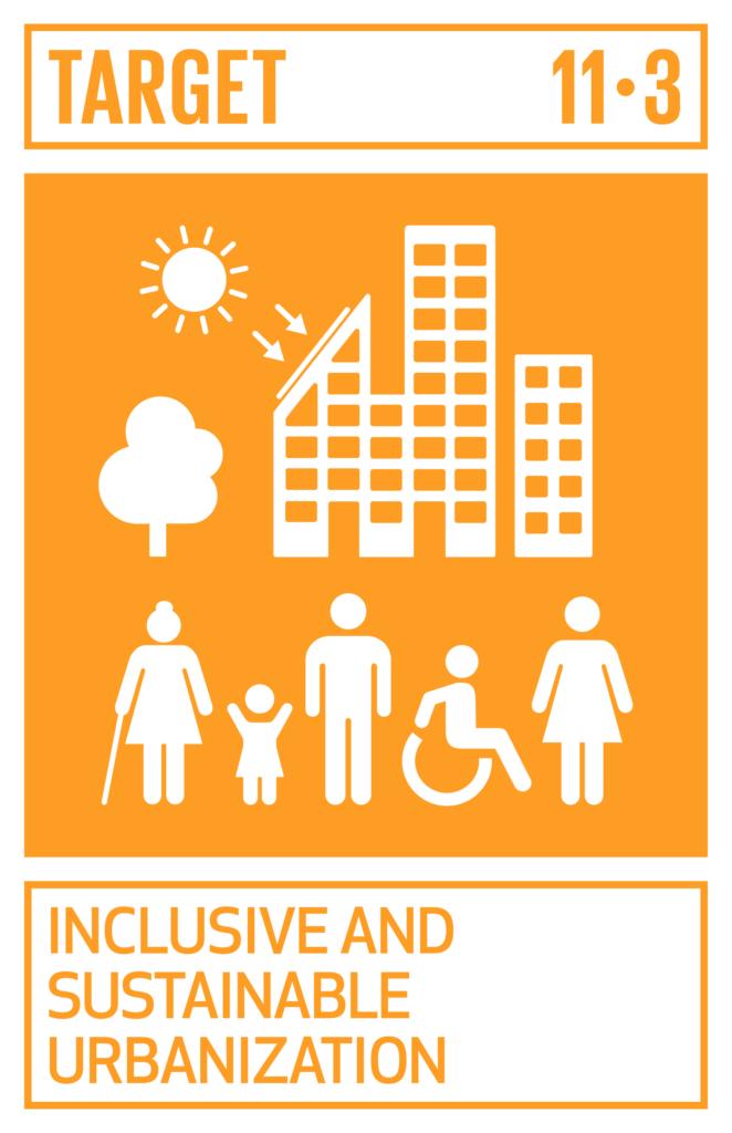 SDGsゴール11 住み続けられるまちづくりを ターゲット11.3
