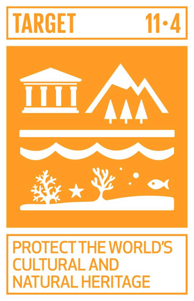 SDGsゴール11 住み続けられるまちづくりを ターゲット11.4