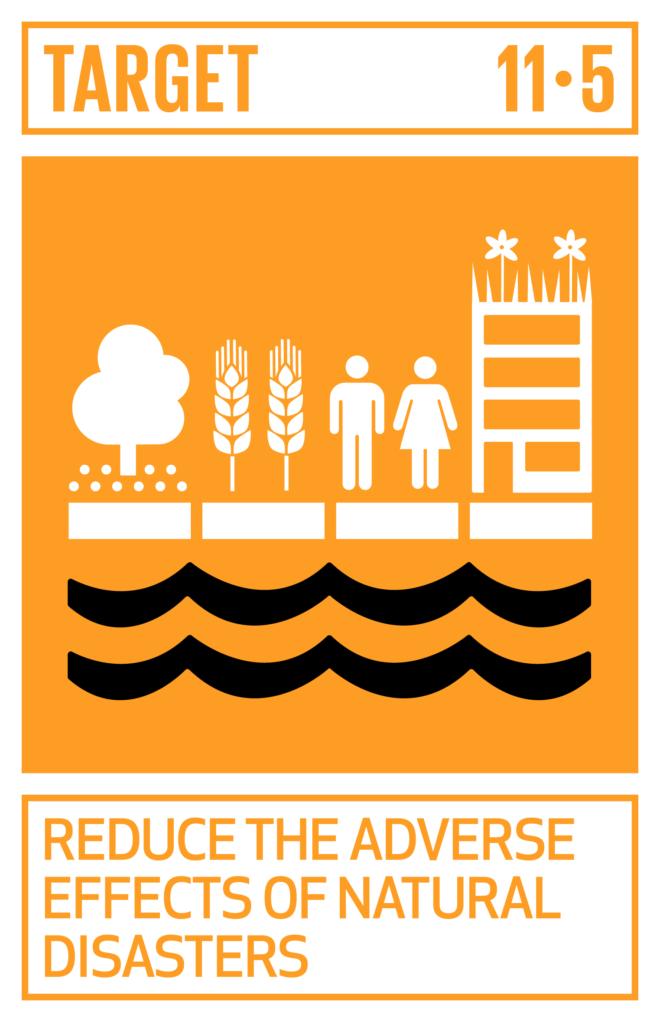 SDGsゴール11 住み続けられるまちづくりを ターゲット11.5