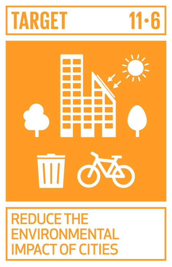 SDGsゴール11 住み続けられるまちづくりを ターゲット11.6