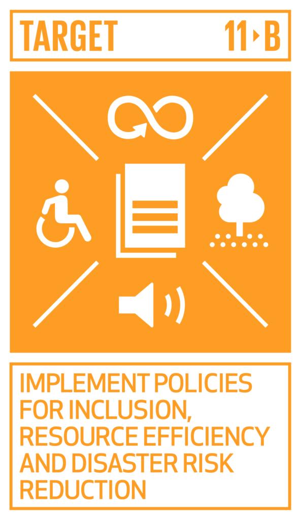 SDGsゴール11 住み続けられるまちづくりを ターゲット11.b