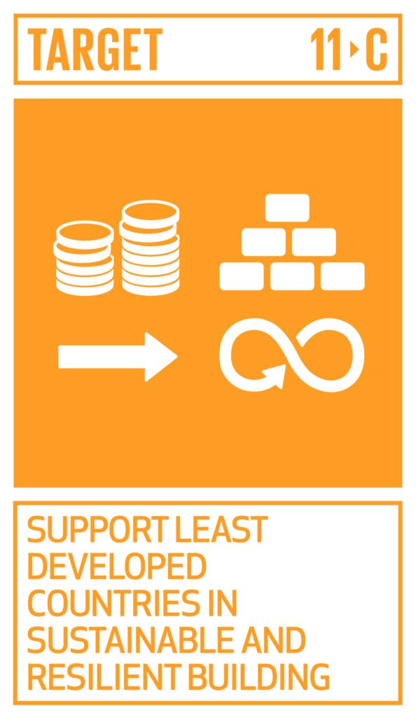 SDGsゴール11 住み続けられるまちづくりを ターゲット11.c