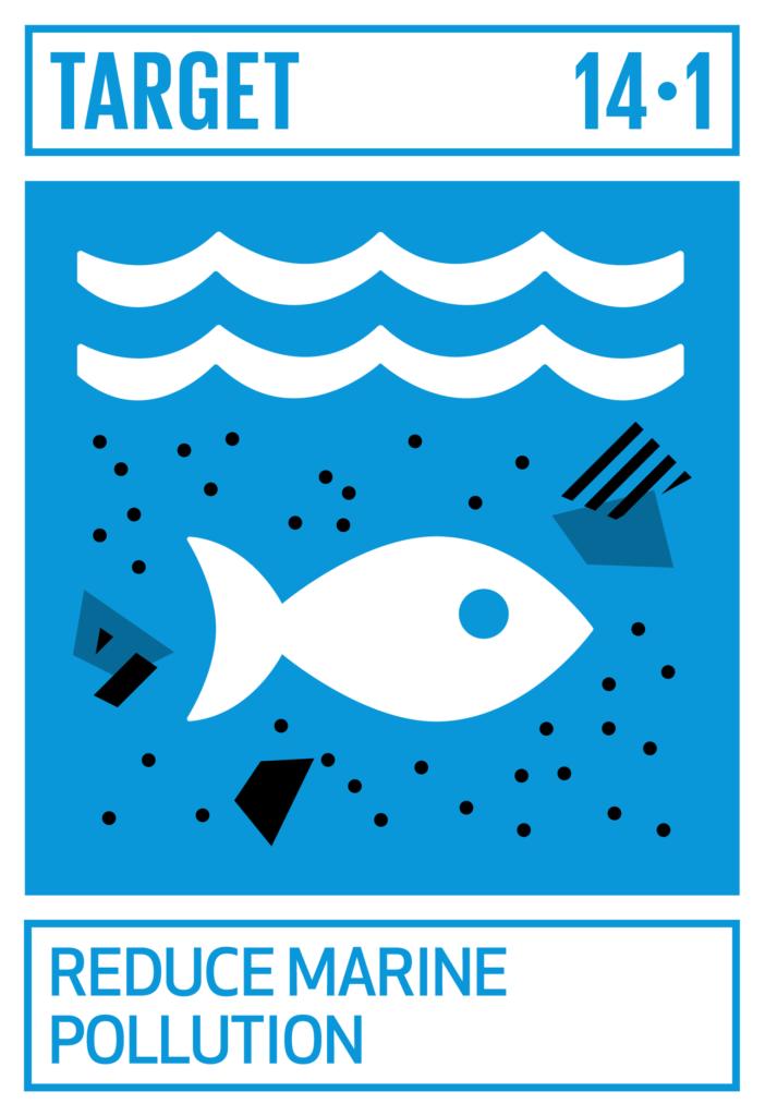 SDGsゴール14 海の豊かさを守ろう ターゲット14.1