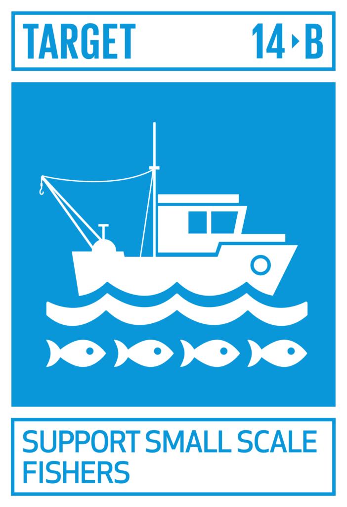 SDGsゴール14 海の豊かさを守ろう ターゲット14.b