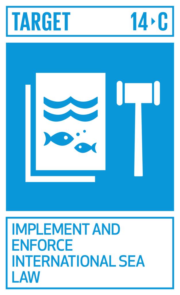 SDGsゴール14 海の豊かさを守ろう ターゲット14.c