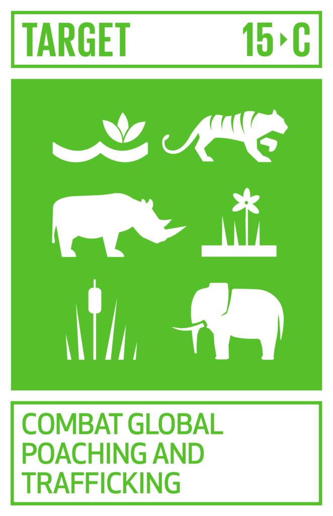 SDGsゴール15 陸の豊かさも守ろう ターゲット15.c