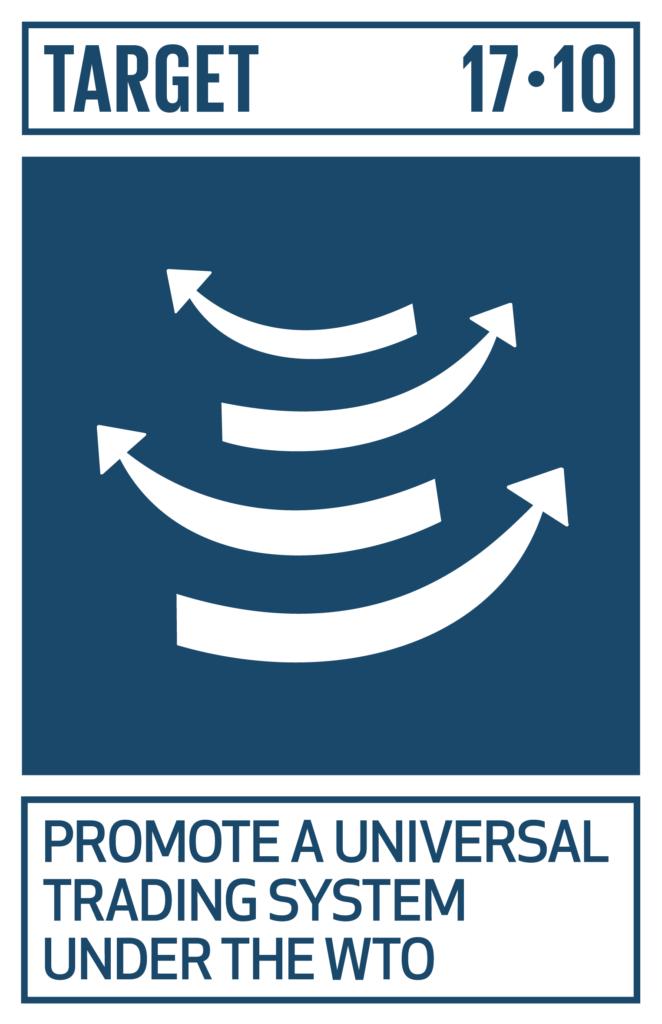 SDGsゴール17 パートナーシップで目標を達成しよう ターゲット17.10