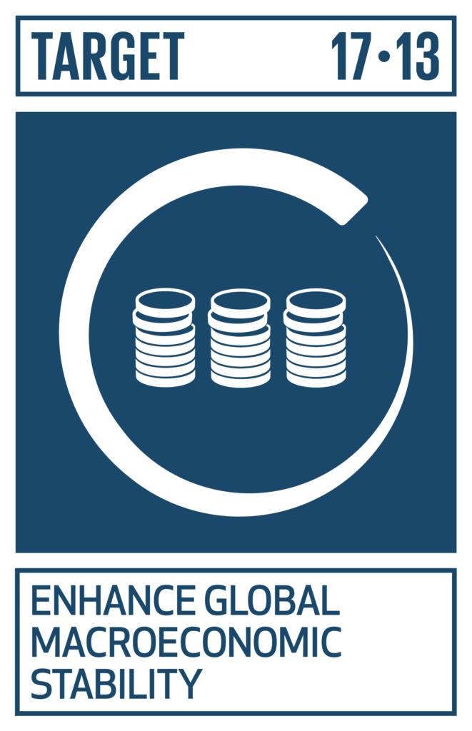 SDGsゴール17 パートナーシップで目標を達成しよう ターゲット17.13