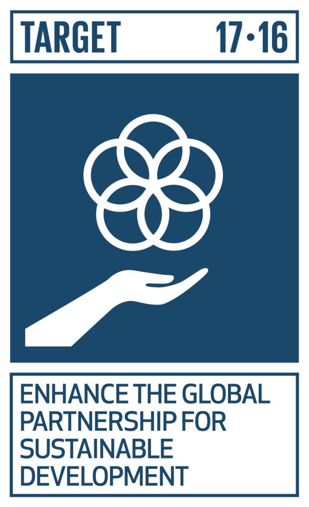 SDGsゴール17 パートナーシップで目標を達成しよう ターゲット17.16