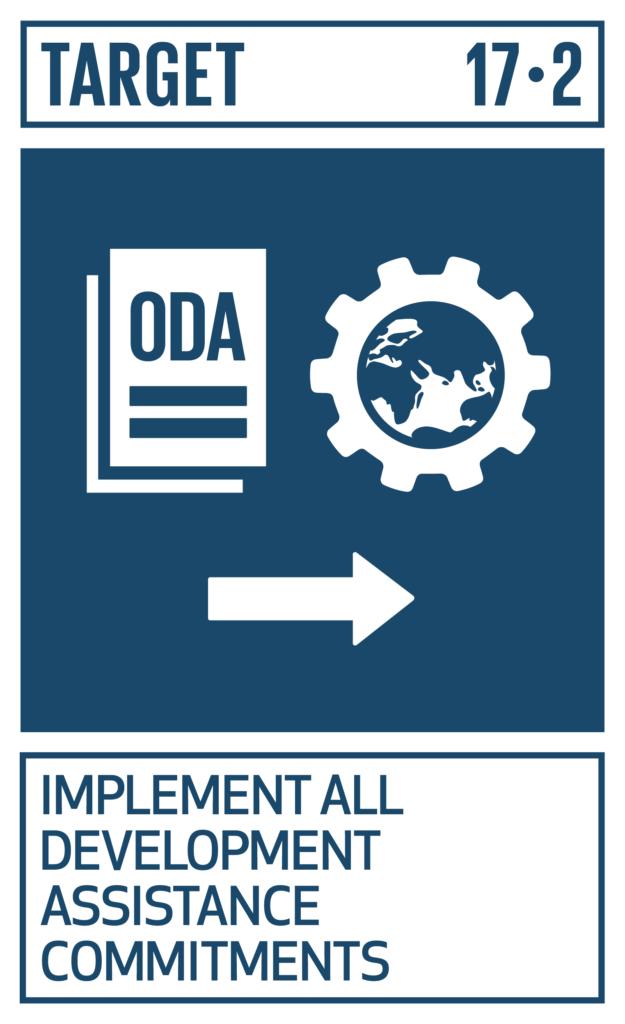SDGsゴール17 パートナーシップで目標を達成しよう ターゲット17.2