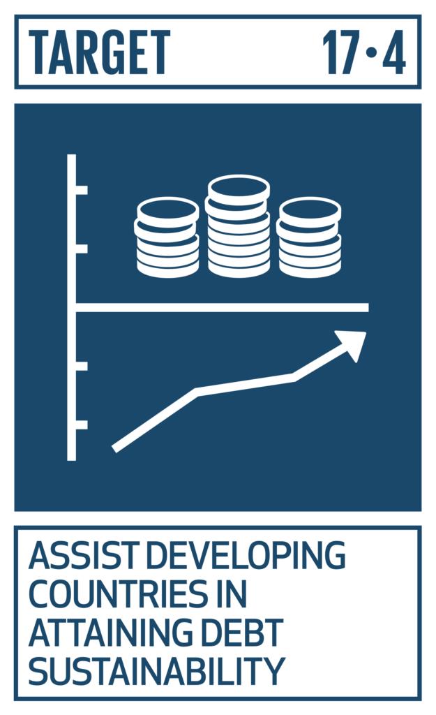 SDGsゴール17 パートナーシップで目標を達成しよう ターゲット17.4