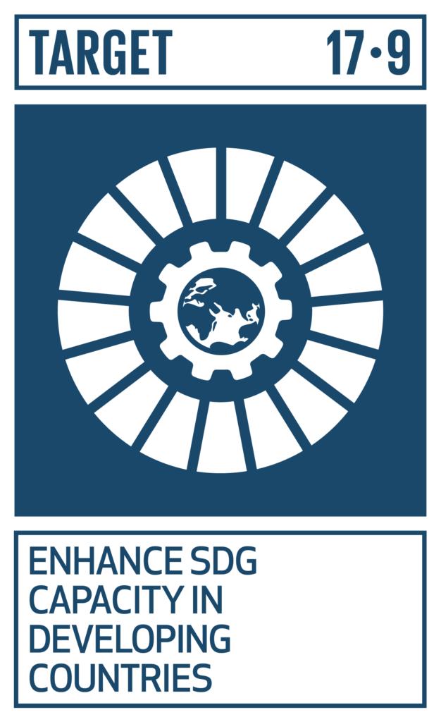 SDGsゴール17 パートナーシップで目標を達成しよう ターゲット17.9