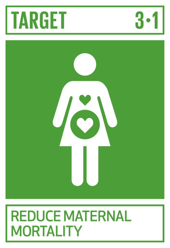 SDGsゴール3 すべての人に健康と福祉を ターゲット3.1