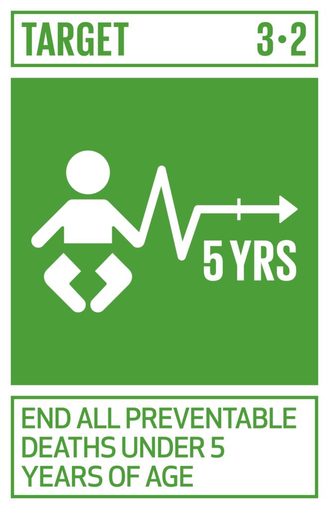 SDGsゴール3 すべての人に健康と福祉を ターゲット3.2