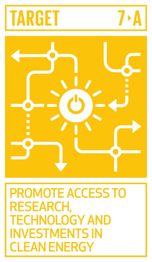 SDGsゴール7  エネルギーをみんなに そしてクリーンにターゲット7.a