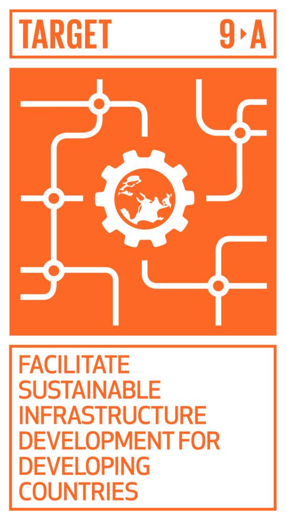 SDGsゴール9 産業と技術革新の基盤をつくろう ターゲット9.a