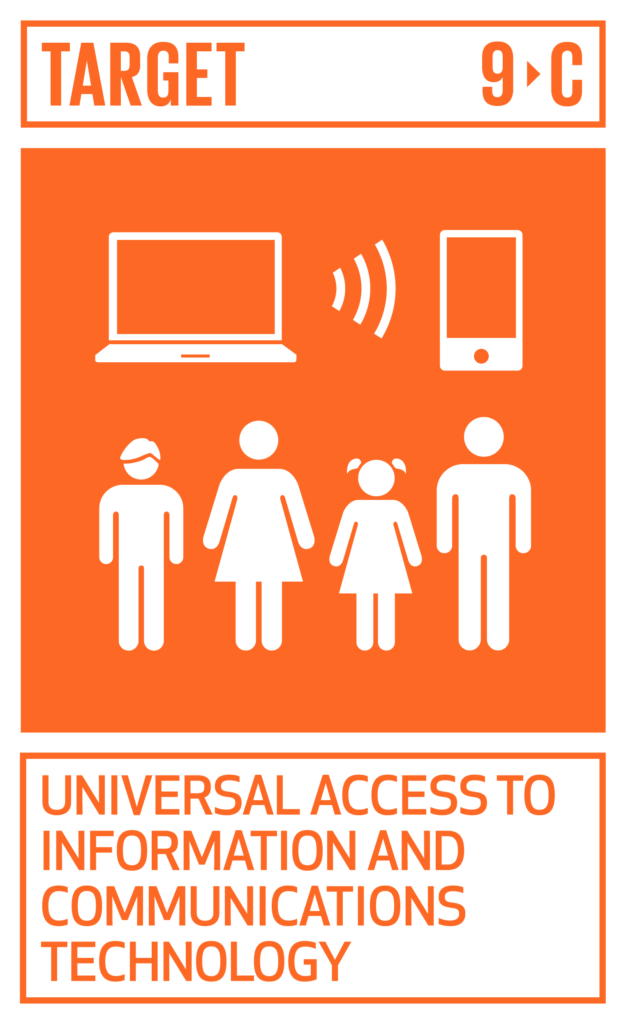 SDGsゴール9 産業と技術革新の基盤をつくろう ターゲット9.c