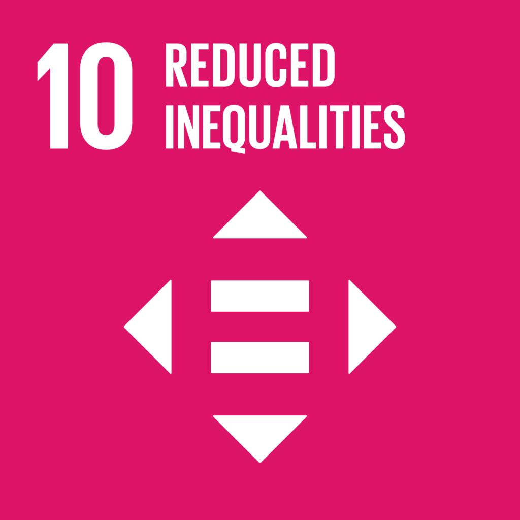 SDGs(持続可能な開発目標) ゴール10 人や国の不平等をなくそう