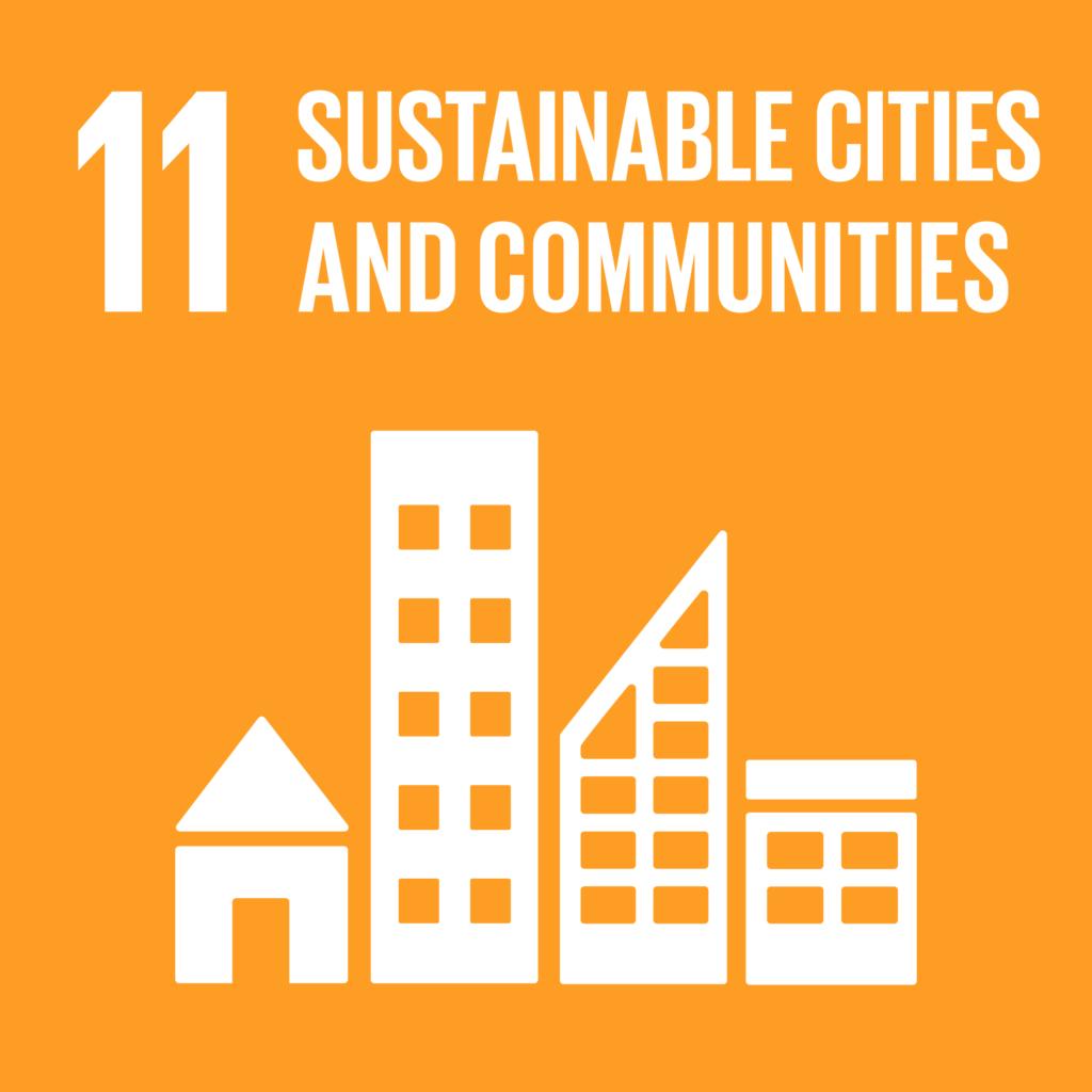 SDGs(持続可能な開発目標) ゴール11 住み続けられるまちづくりを