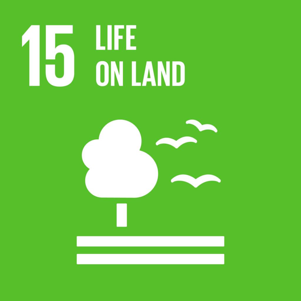 SDGs(持続可能な開発目標) ゴール15 陸の豊かさも守ろう