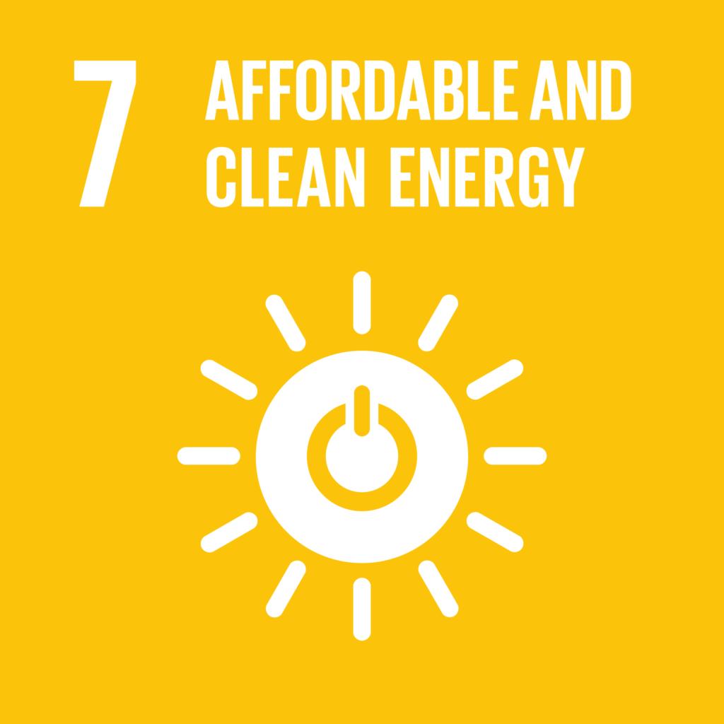 SDGs(持続可能な開発目標) ゴール7  エネルギーをみんなに そしてクリーンに