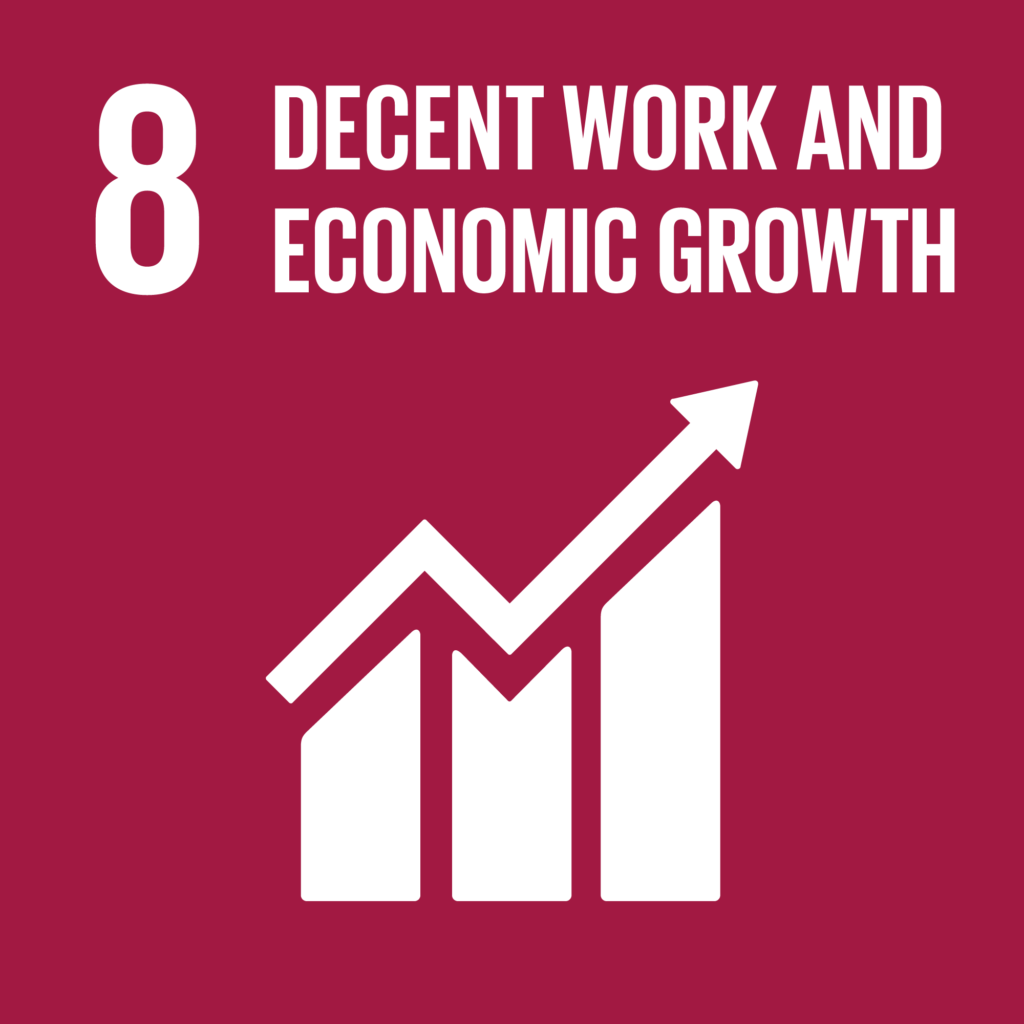 SDGs(持続可能な開発目標) ゴール8 働きがいも経済成長も