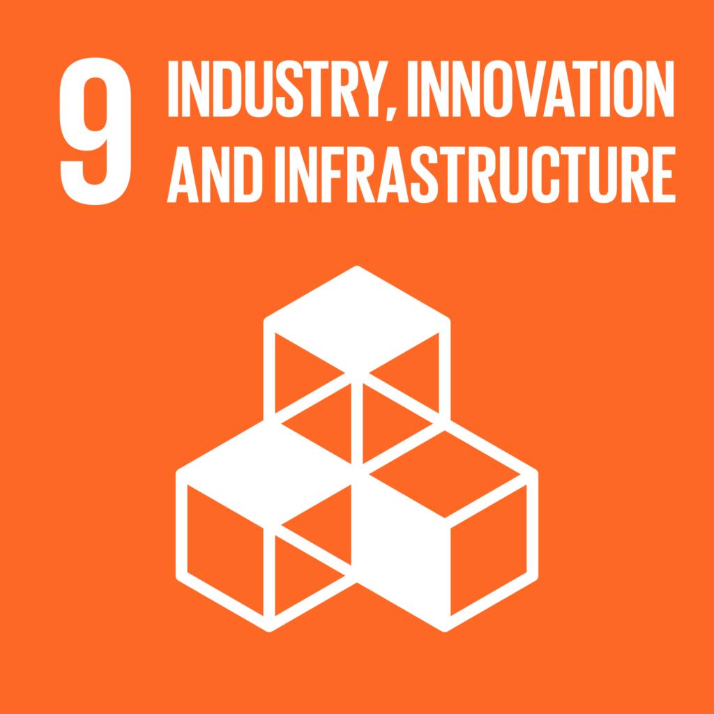 SDGs(持続可能な開発目標) ゴール9 産業と技術革新の基盤をつくろう